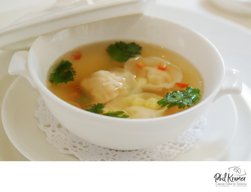 Chinese Wonton Soup | Food Photography by Phil Kramer