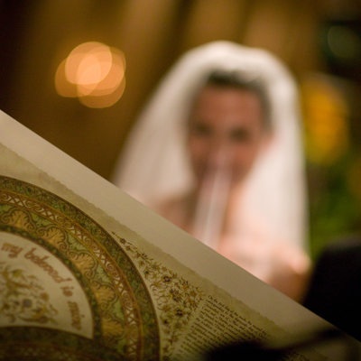 Ketubah Scriptures and Prayer Before Beloved Marriage