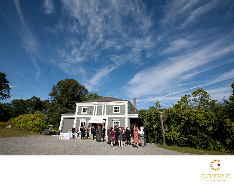 Codman Carriage House Wedding Photos