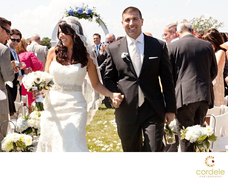 Outdoor wedding Photos Block Island