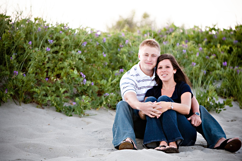 Beach Engagement Photos Massachusetts