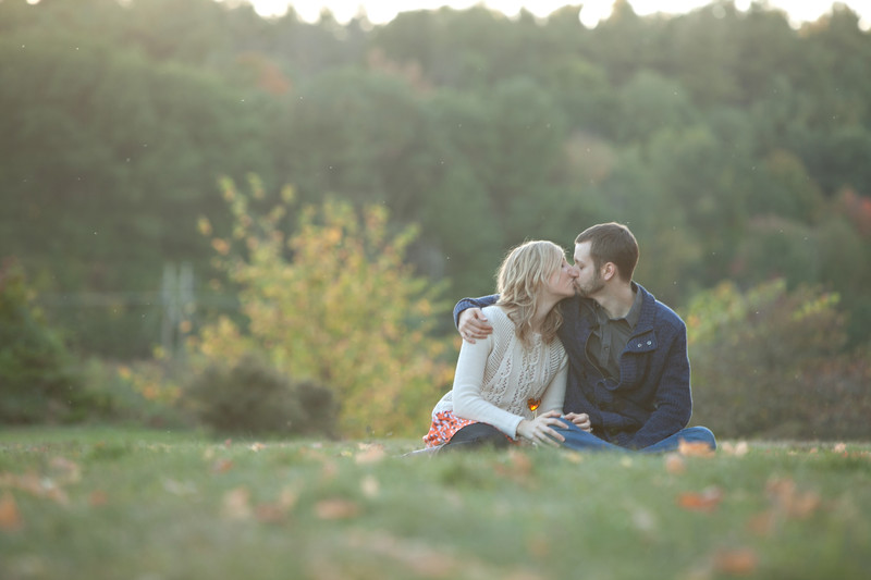 Engagement photos west boylston