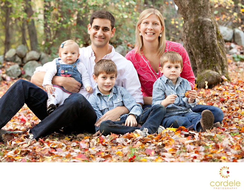 Fall Family portraits Massachusetts