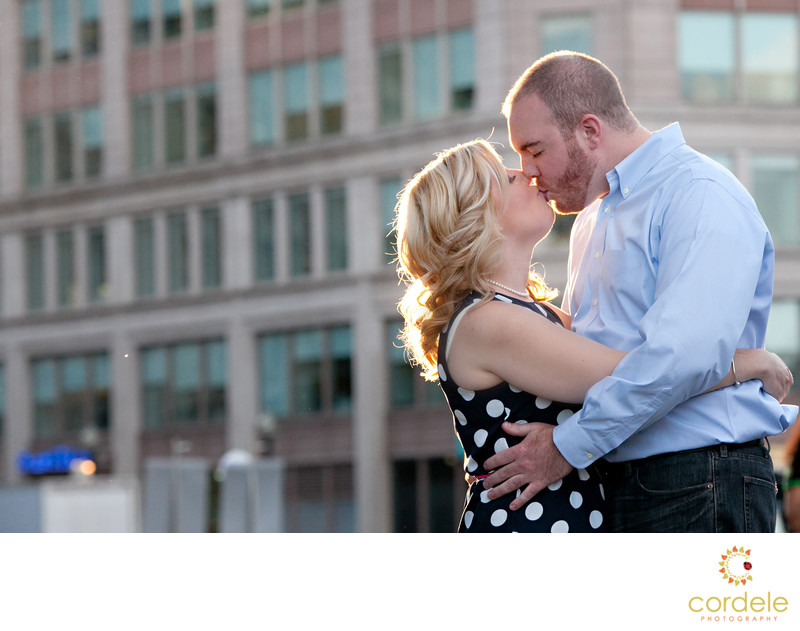 Boston Seaport Engagement Photographer