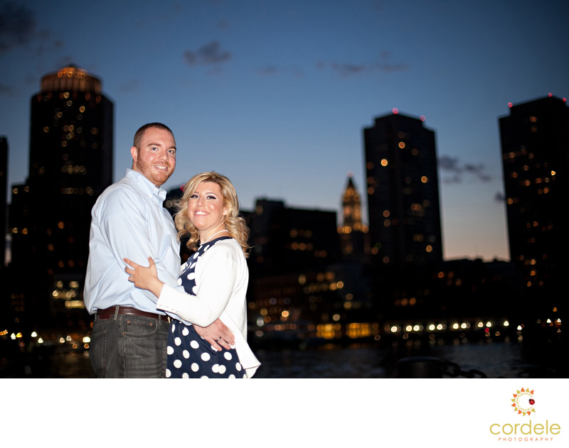 Engagement Photos Sunset Boston