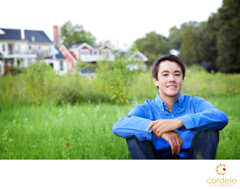 Lynnfield Massachusetts Outdoor Senior Photography