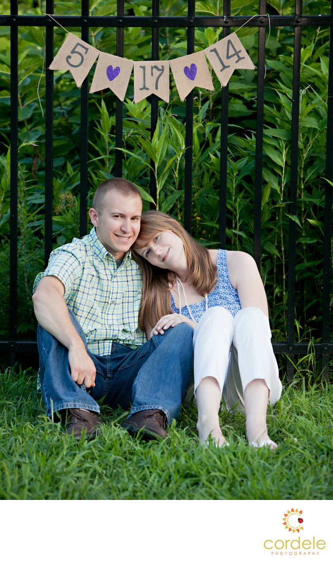 Roger Williams Zoo engagement photos