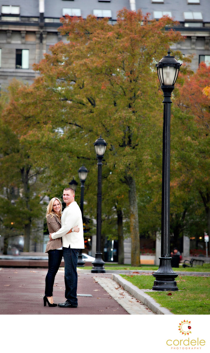 North End Engagement Photographers