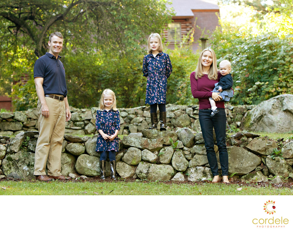 Family Fall Photos Massachusetts