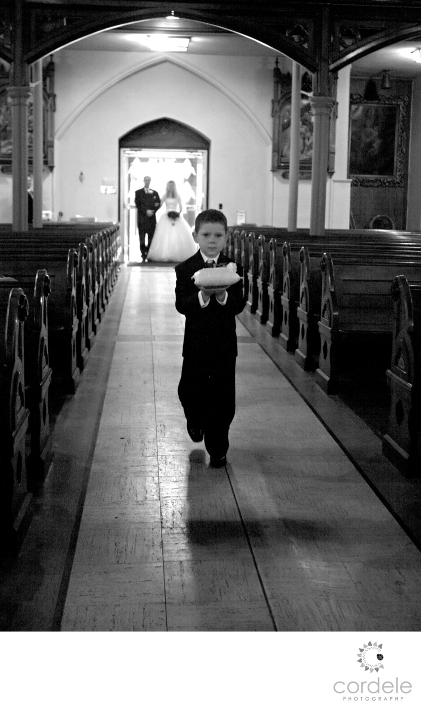 Ring Bearers Wedding photos