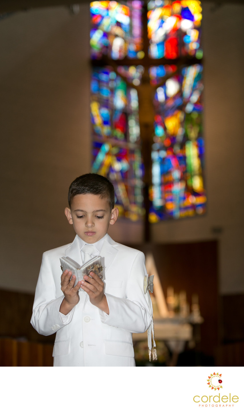 reading ma first communion photo