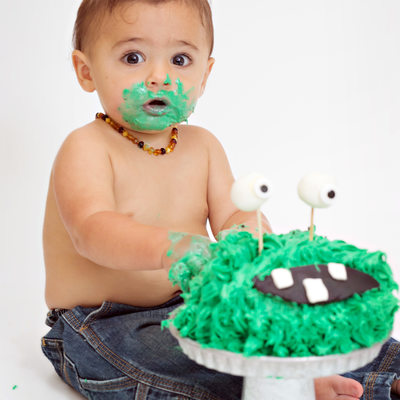First Birthday Cake Smash Photographer North Reading