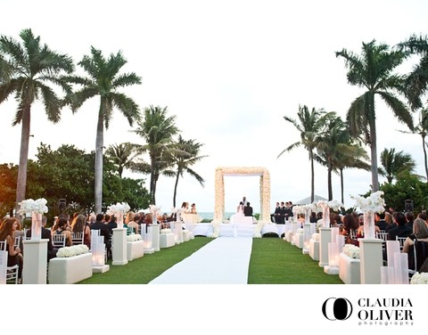 Tropical luxury wedding at The Ritz-Carlton Key Biscayne Miami