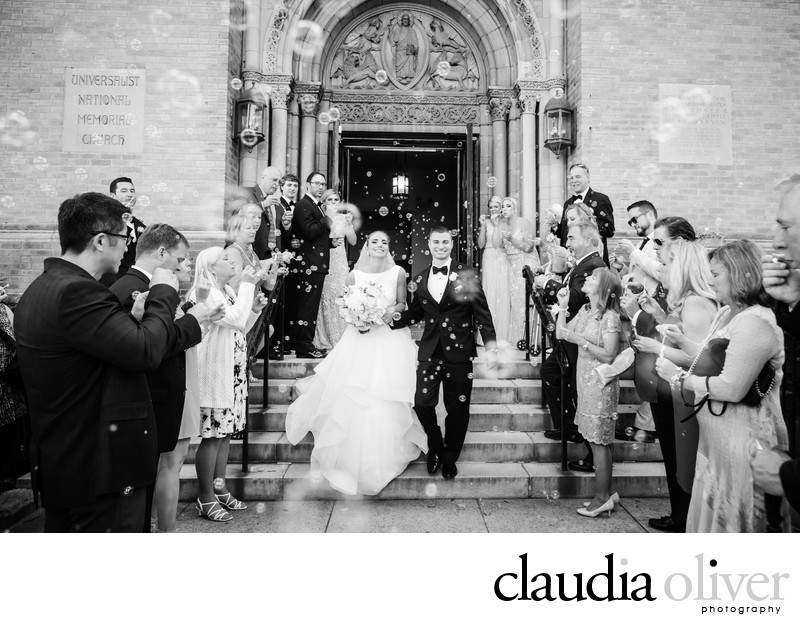 Universalist National Memorial Church Washington D.C.Wedding Photos