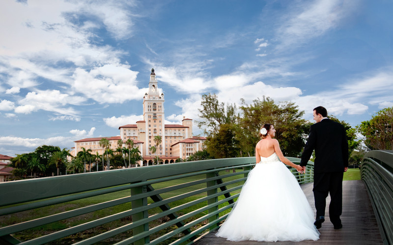 Wedding at Biltmore Hotel Miami,Coral Gables