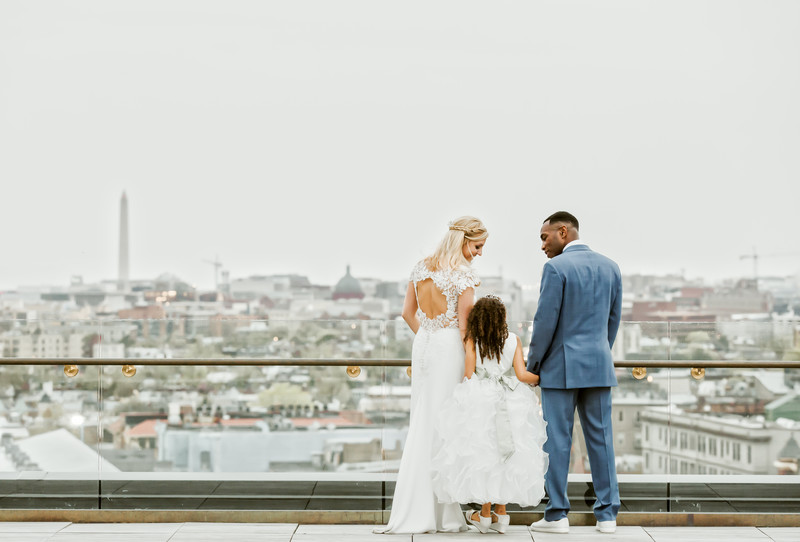 The Line hotel Washington DC wedding Photos
