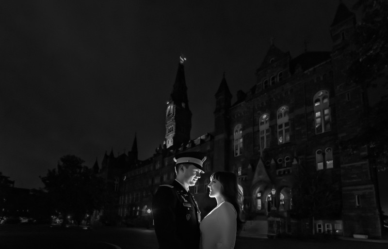 Georgetown University engagement session photos