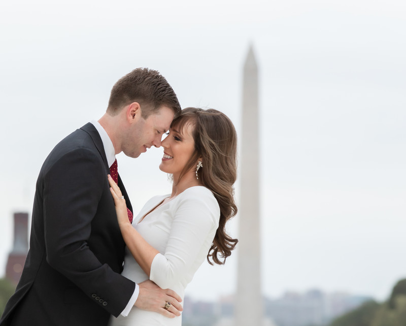Best Capitol Hill engagement session photos