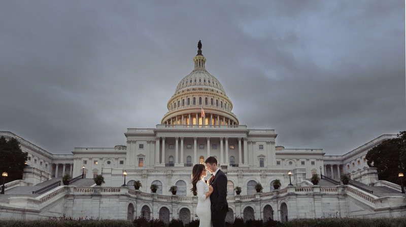 Capitol Hill Engagement Photos - DC  photographer