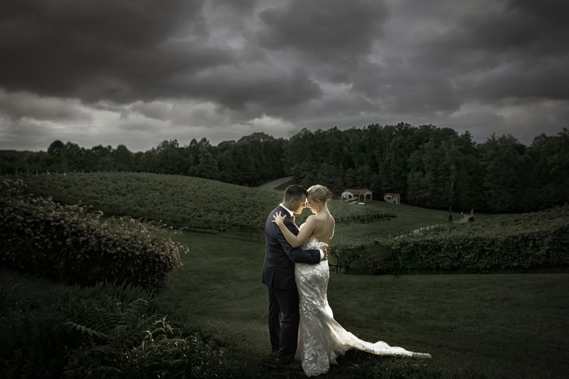 Wedding at Potomac Point Winery Stafford Virginia