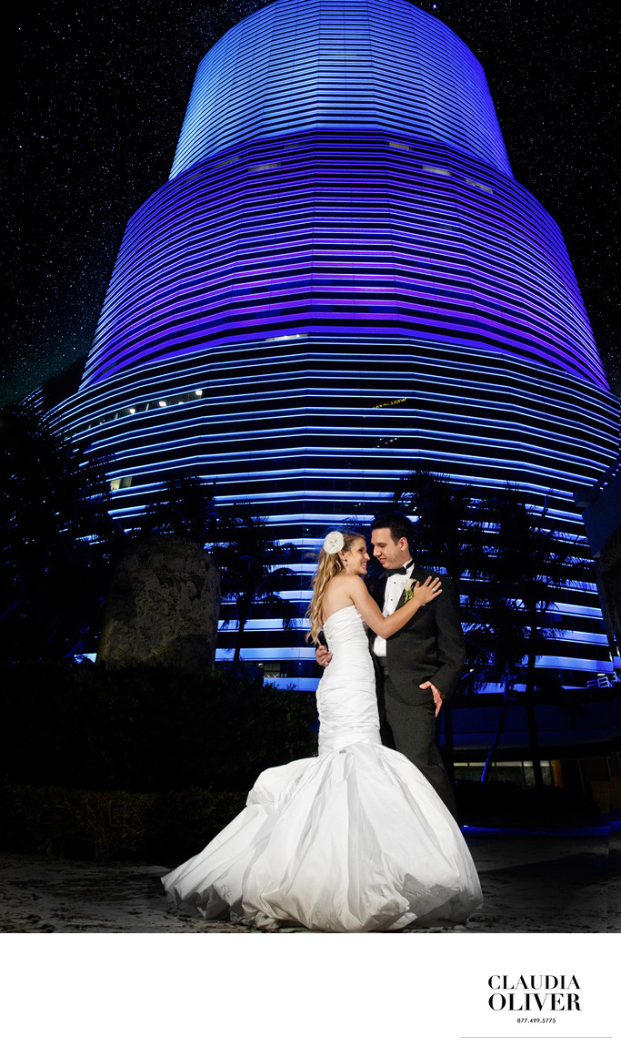 Miami tower wedding photographer