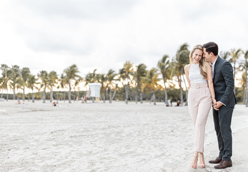Miami Engagement Photos: Matheson Hammock Park