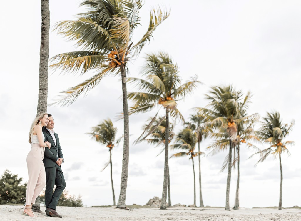 Miami Engagement photos location: Matheson Hammock Park