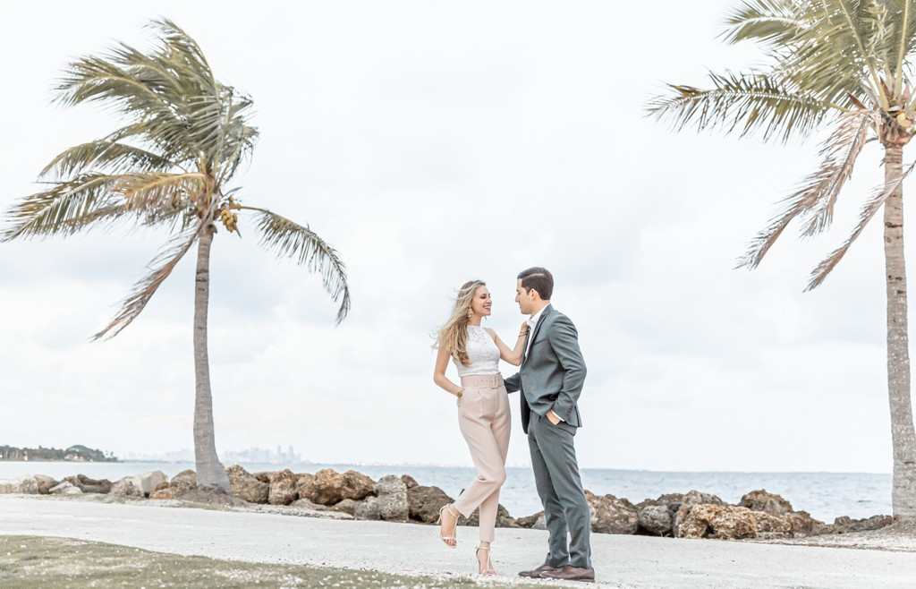 Boho & Beachy: Matheson Park Miami Engagement photos