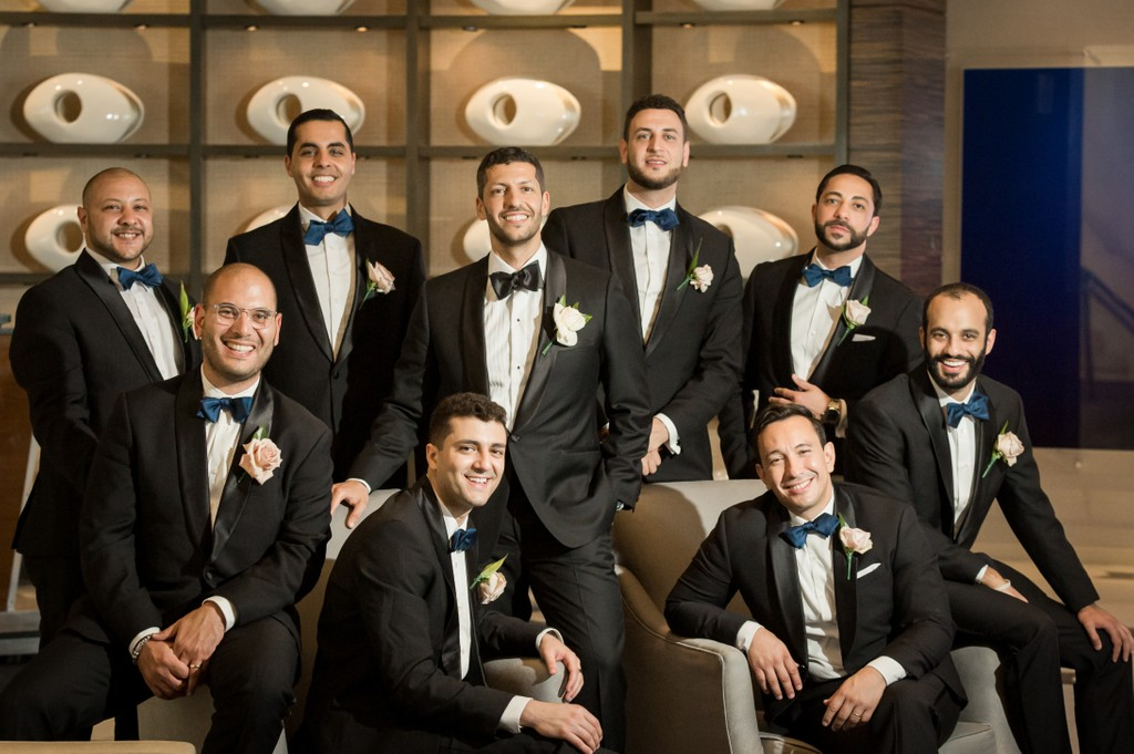 Elegant Black-Tie wedding photography at Fontainebleau Miami Hotel