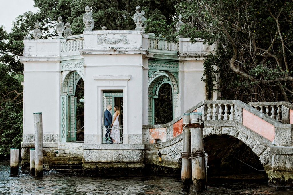 Miami Engagement Photographer: Vizcaya Museum