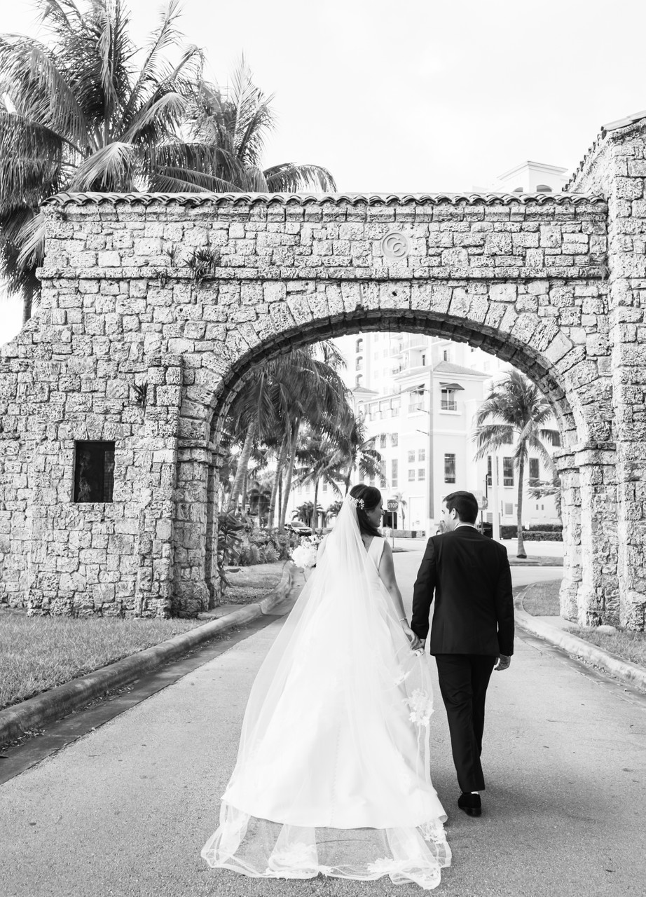 Church of Little Flower Coral Gables Wedding Photography