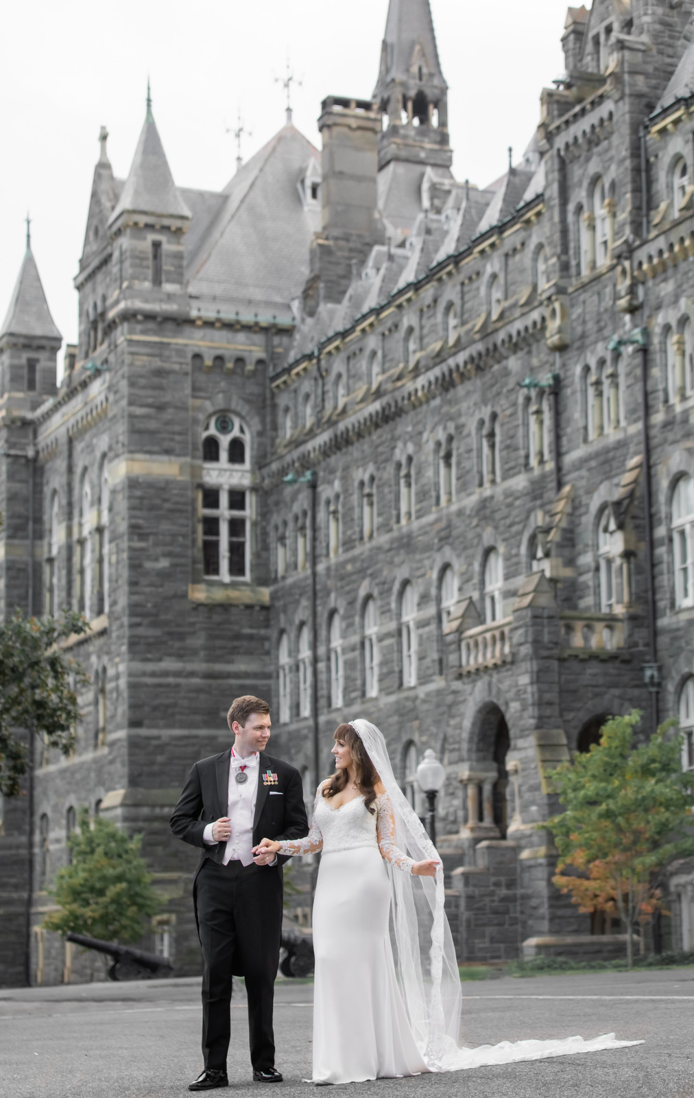 Georgetown University wedding photography