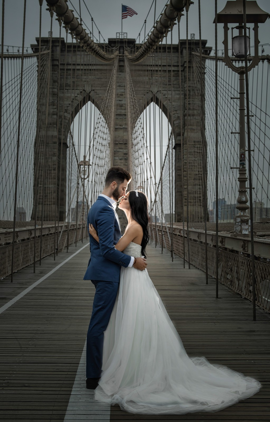 Brooklyn Bridge Elopement: NYC wedding photographer