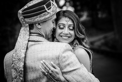 Elegant Indian Garden wedding at Botanical gardens
