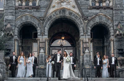 Elegant Classic wedding photography at  Georgetown University