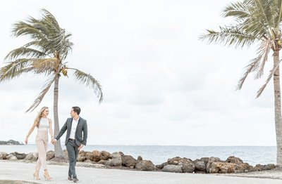 Best Miami Engagement Photographer: Matheson Hammock Park