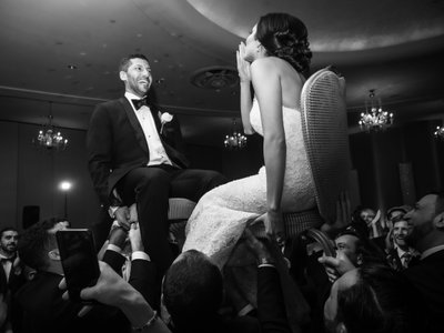 Jewish wedding at The Fontainebleau Hotel Miami Beach