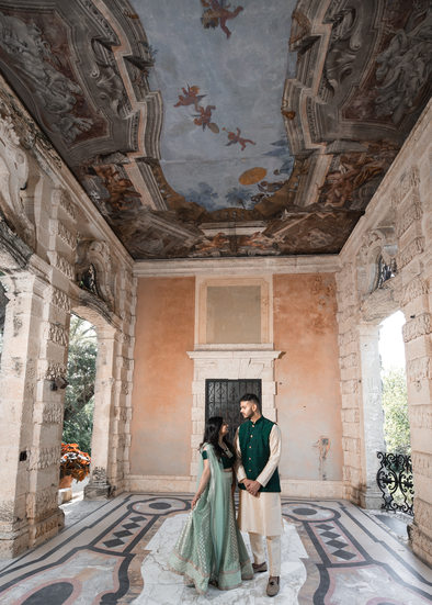 Miami Elopements: Vizcaya museum and gardens wedding