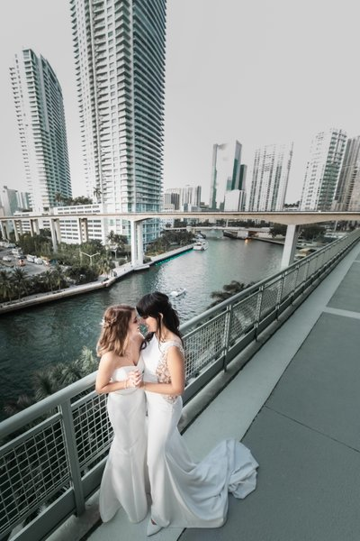 Same Sex LGBTQ: Miami wedding photographer