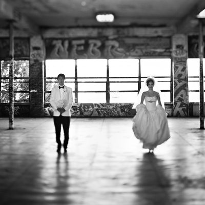 Tacoma Museum Of Glass Wedding Photography