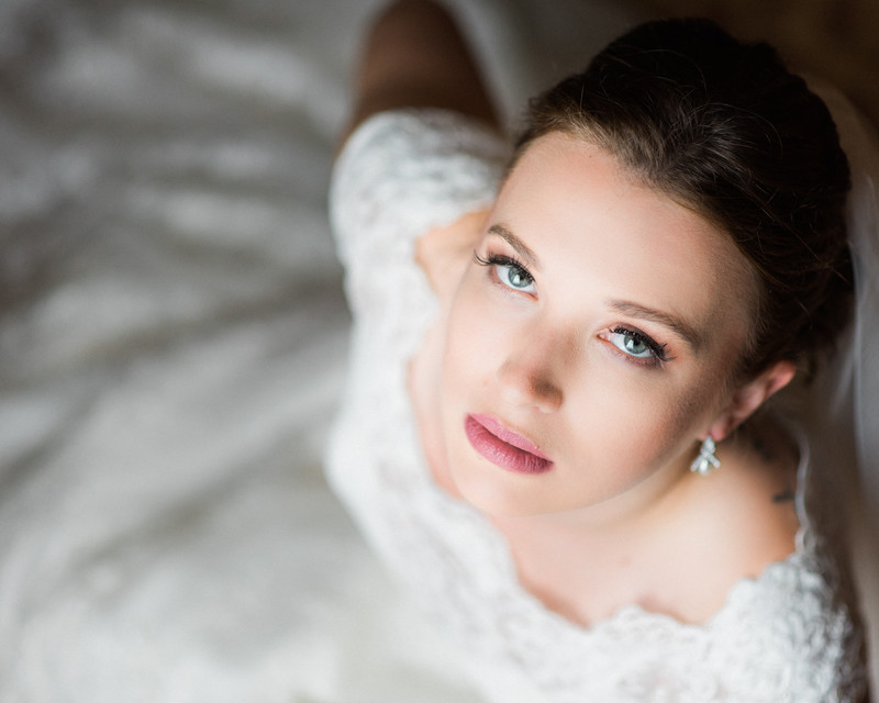 Chicago wedding photography bridal portrait beauty shot