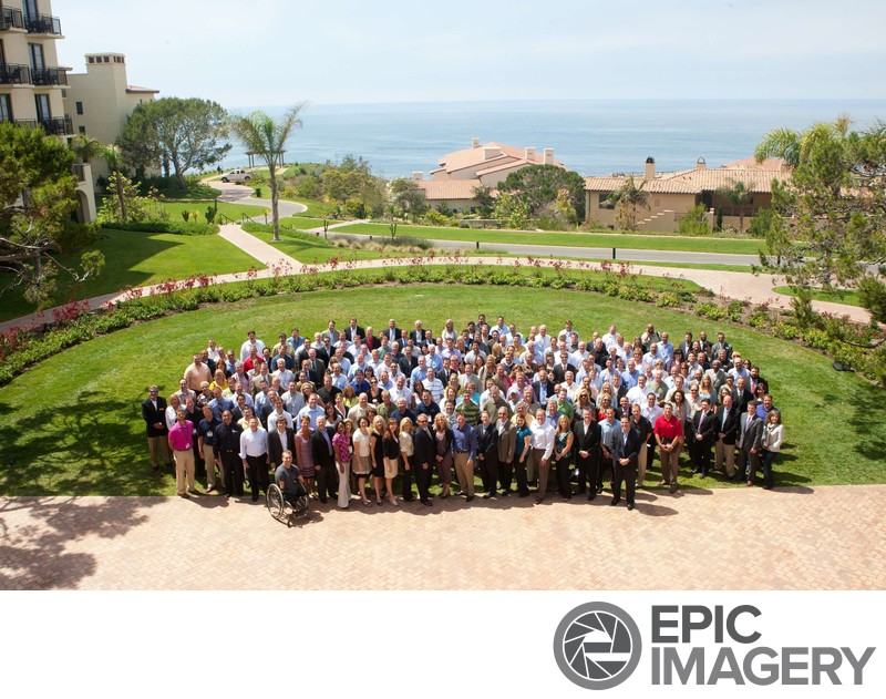 Large Corporate Portrait at Terranea Resort