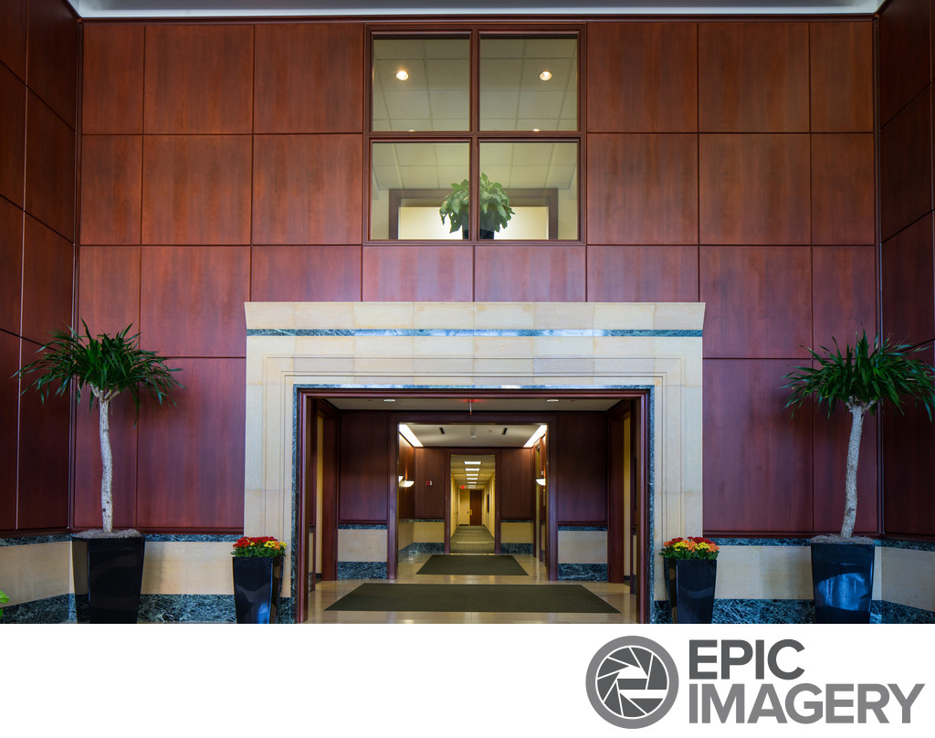 Architectural Image of Corporate Lobby