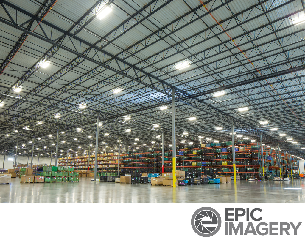 Corporate Warehouse Architectural Photography