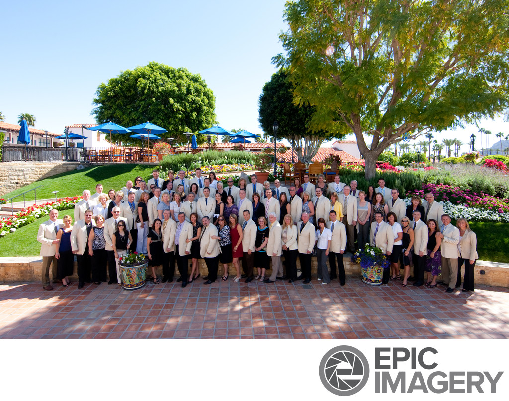 Large Corporate Portrait at La Quinta Resort