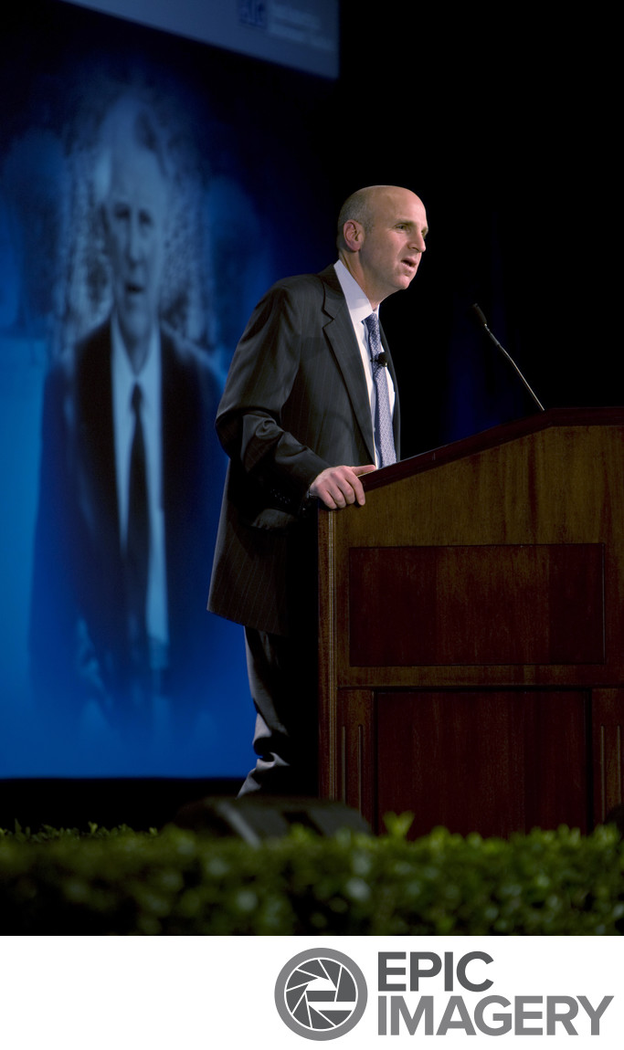 CEO Executive Speaking at General Session