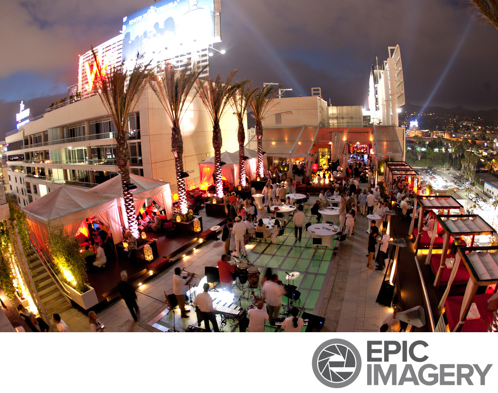 High School Fundraiser Event in Hollywood, CA
