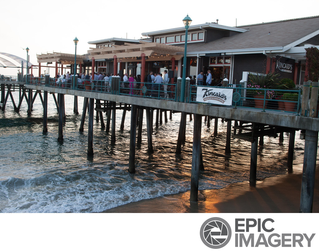 Corporate Social Mixer on the Redondo Wharf