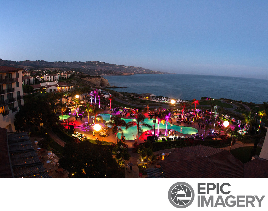 Panorama Scenic of Corporate Party at Terranea Resort