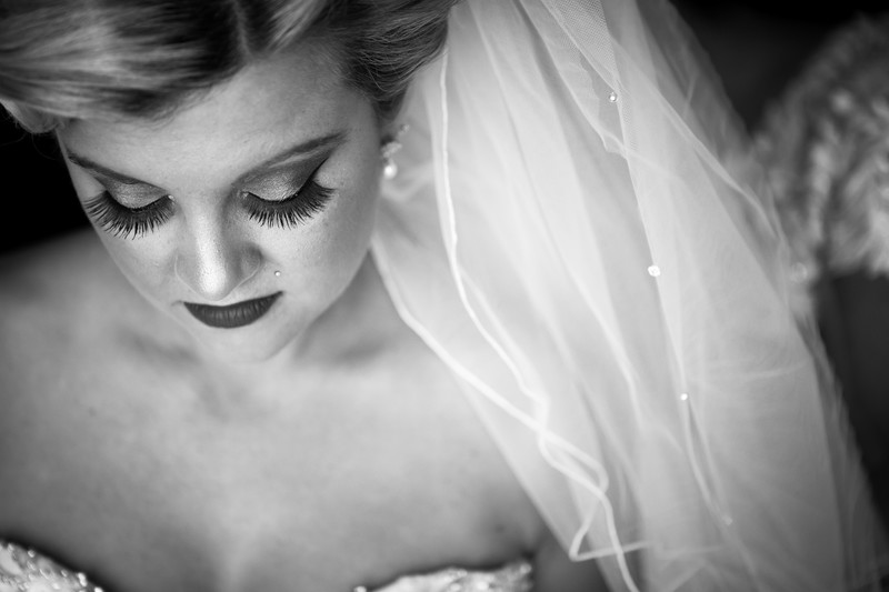 bride eyelashes